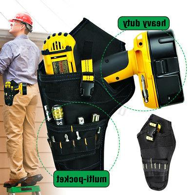 drill holster cordless tool holder heavy duty