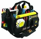 Electrician Tool Bag Pouch Large Pocket Storage Contractor C