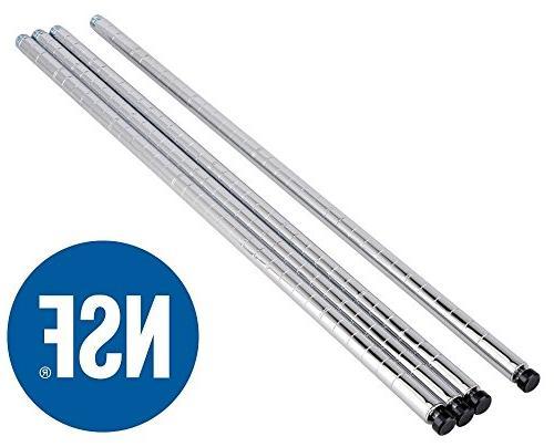 eeZe Rack DUTY Wire Storage 36x18x72-inches