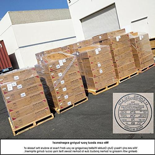 eeZe ETI-003 DUTY Shelving, Storage Rack, NSF 36x18x72-inches