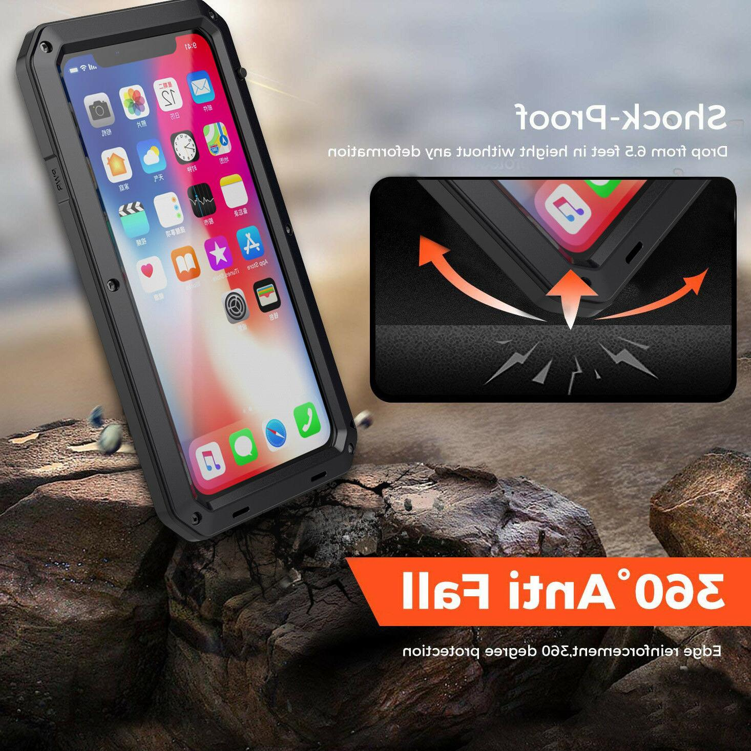 F iPhone Pro Max XR HEAVY DUTY Case Cover