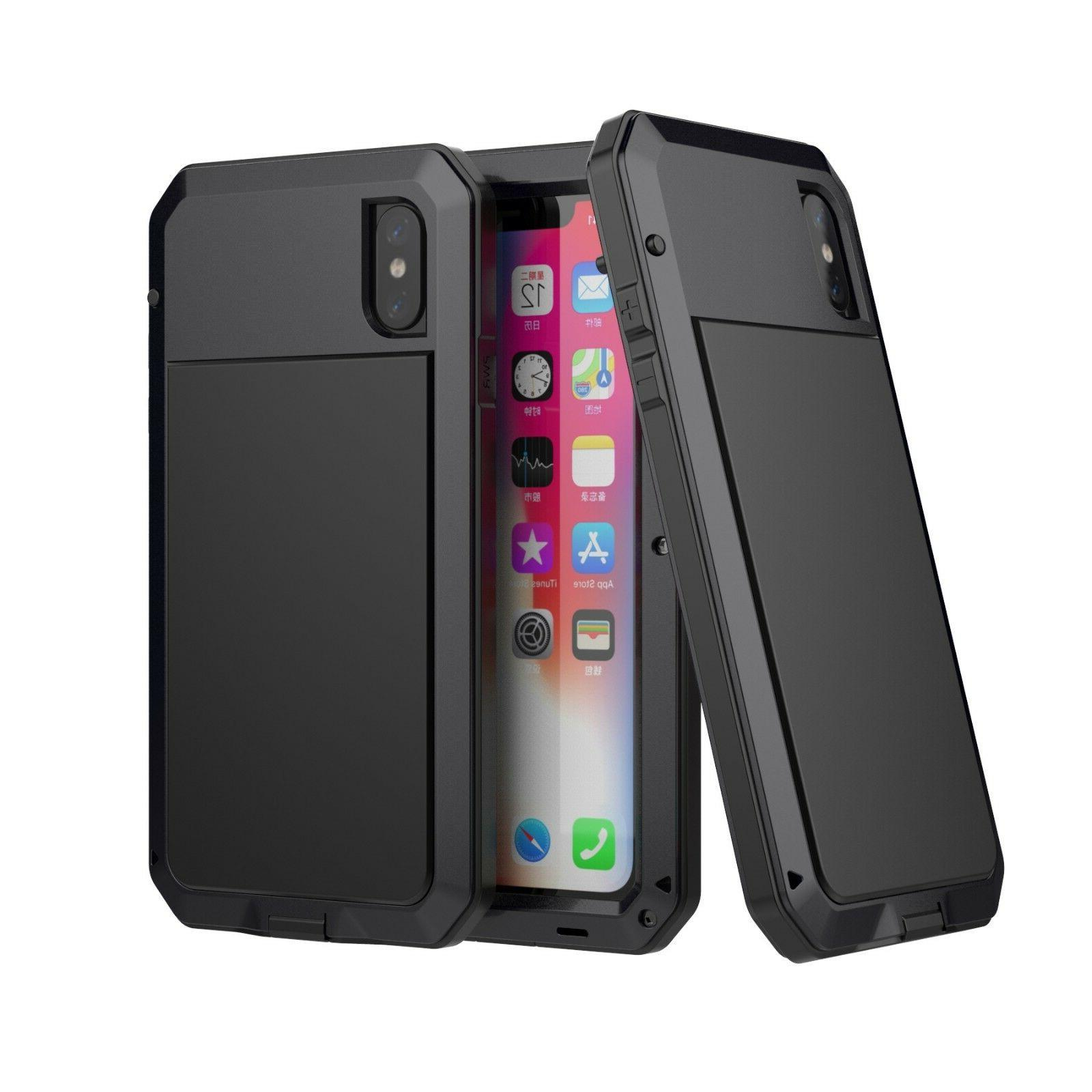 F iPhone 11 Max 8 XR Shockproof HEAVY DUTY Cover