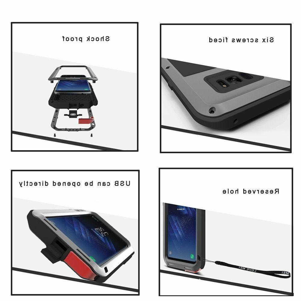 F Samsung Note 10 S10 Shockproof Aluminum Case