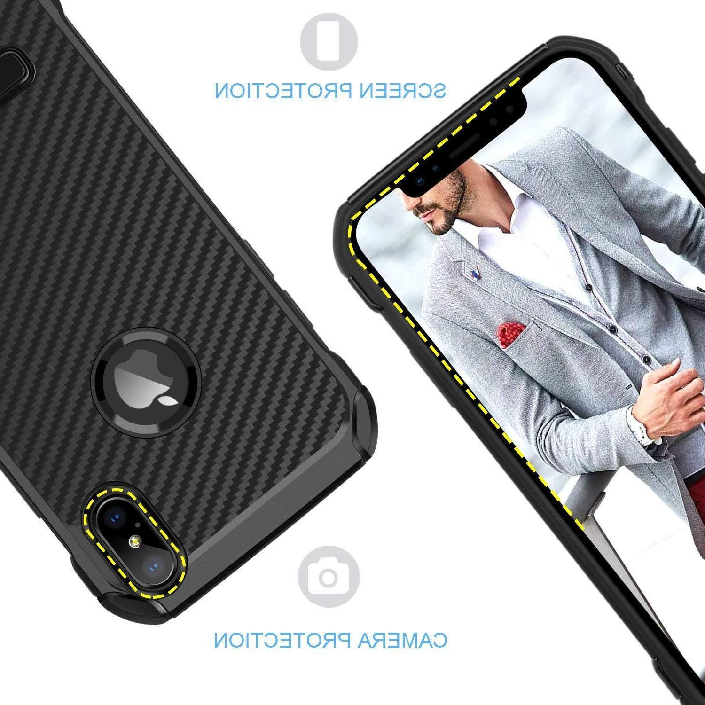 Fits iPhone Kickstand Fiber Cover