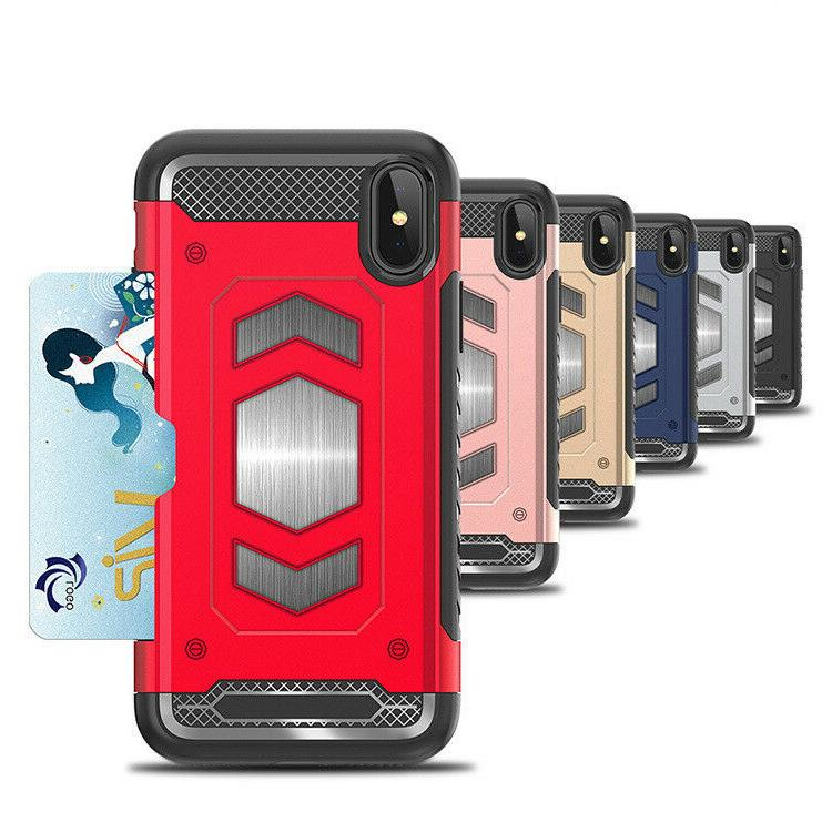 Fits iPhone Body Card Holder Cover