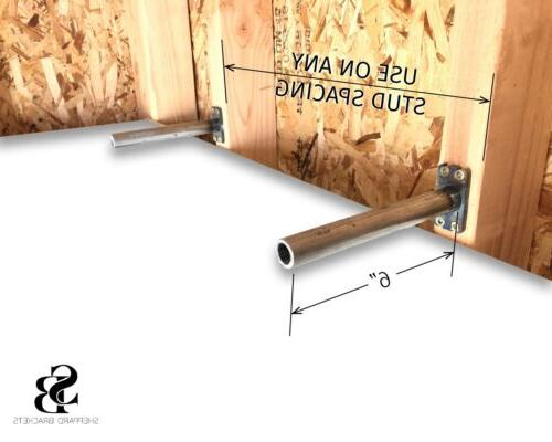 Floating Shelf Bracket, Install, In