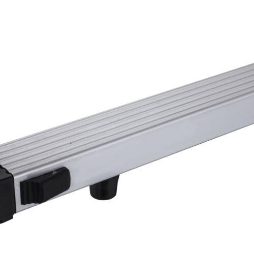 Folding 12.5FT Multi Purpose Telescopic Ladder Aluminum Heavy