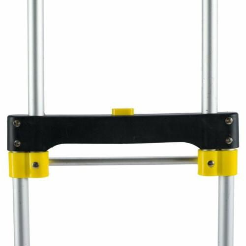 Folding and Dolly 330Lbs Luggage Trolley Cart US