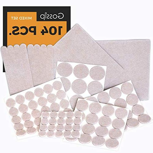 furniture pads set value
