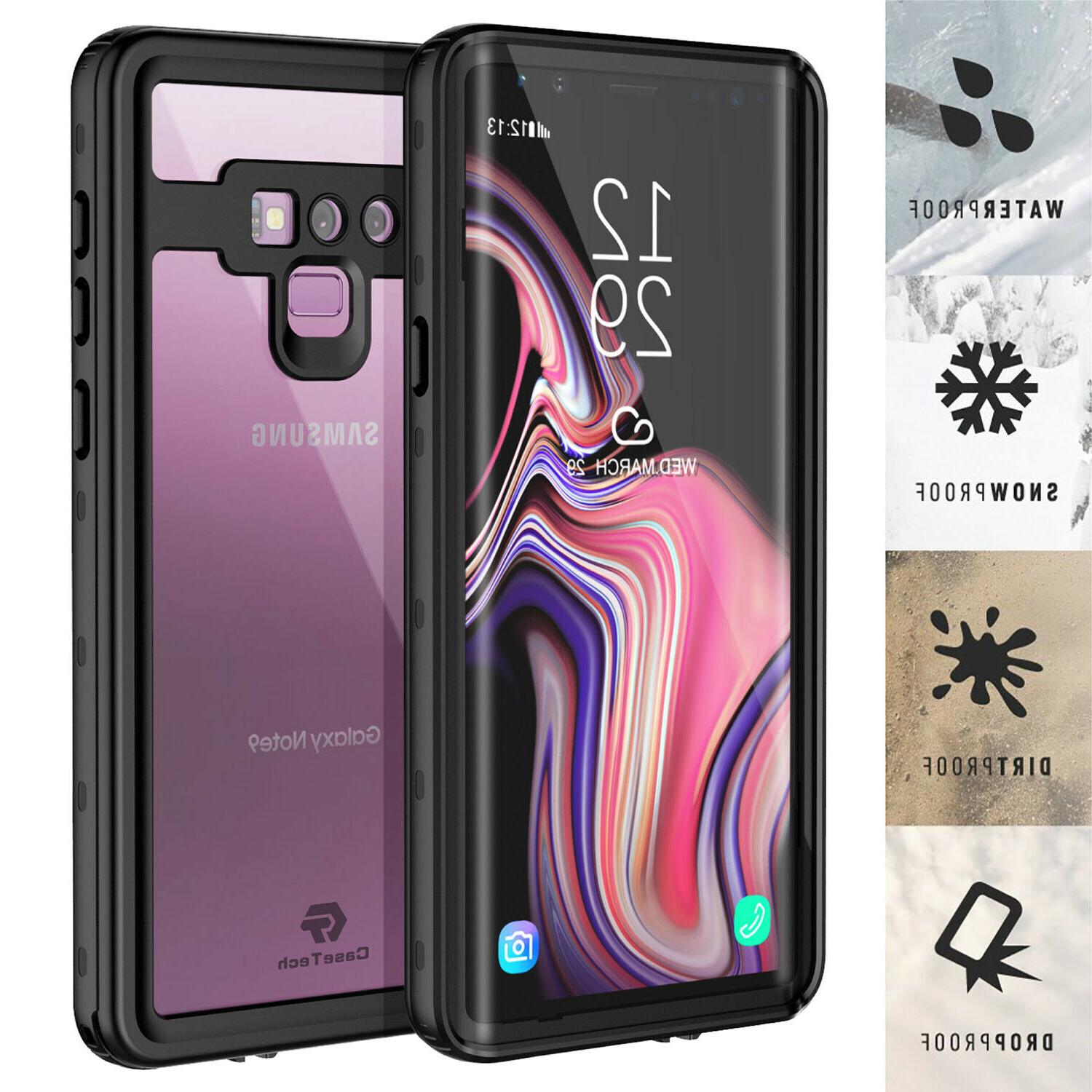 galaxy note 9 case waterproof shockproof dirtproof