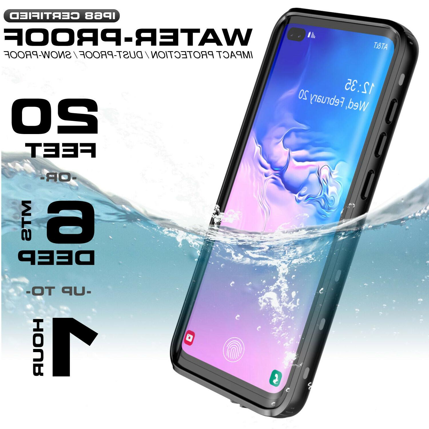 Galaxy Plus Case Waterproof Heavy Duty
