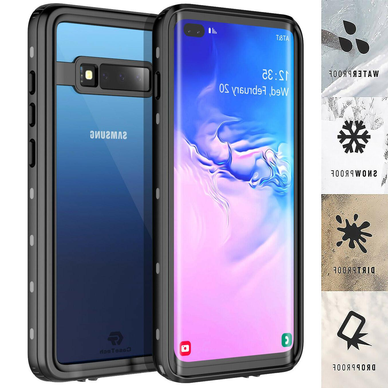 galaxy s10 plus case waterproof shockproof dirtproof