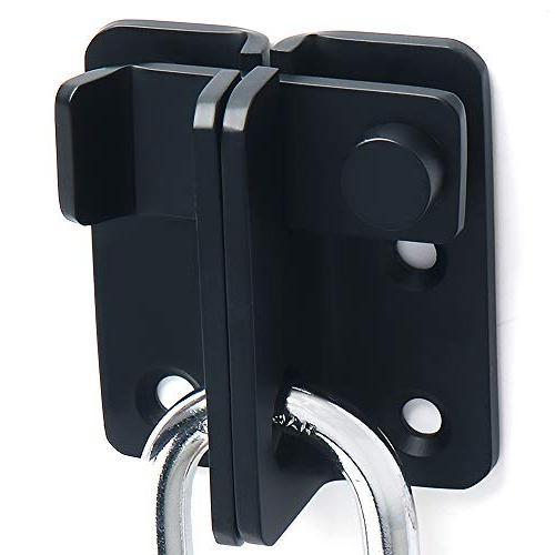 Alise Bolt Door Lock,MS3005-B Steel Black
