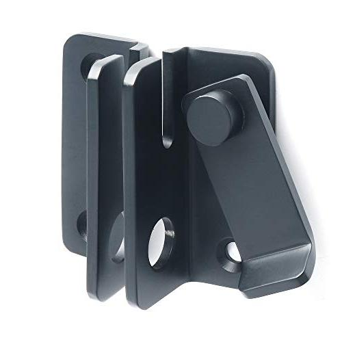 Alise Gate Latches Bolt Black