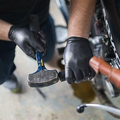 GLOVEWORKS Black Duty Gloves 100pcs