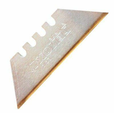 LENOX Gold 20350-GOLD5C Titanium Edge Utility Knife Blade -
