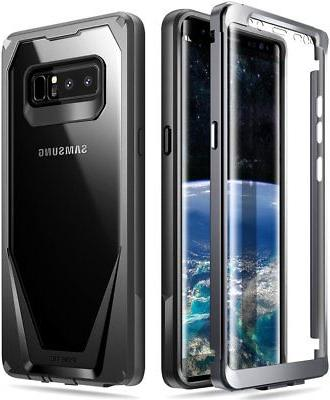 Poetic Guardian Black【Scratch Back】Case For Galaxy 8