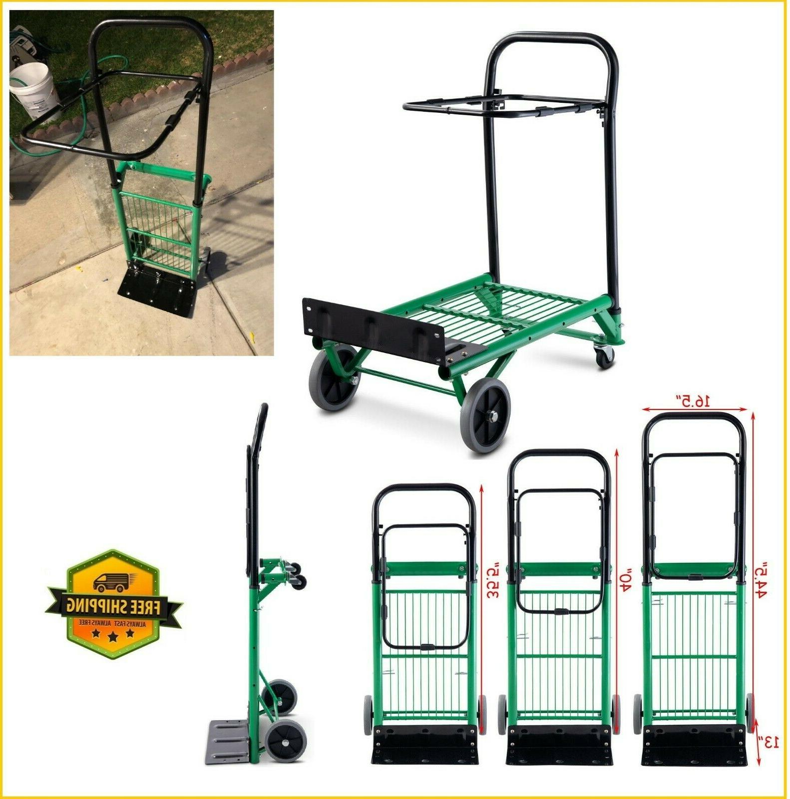 hand truck dolly convertible foldable platform cart