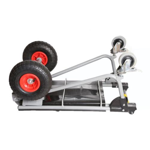 Hand Truck Dolly 800 Duty Dual Capacity Convertible Cart