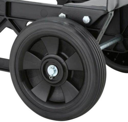 Hand 2-in-1 Convertible 4-Wheel Platform Steel 400 lb.