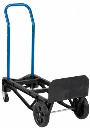 Hand Moving Dolly 2-in-1 Convertible Steel