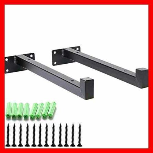 """Heavy Duty 10"""" Industrial Shelf Brackets Hardware Wall Mount"""