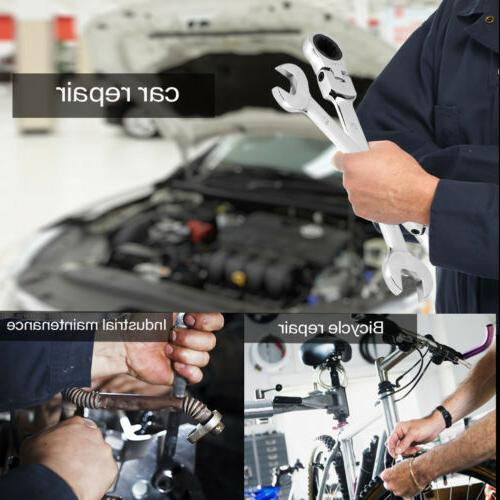 Heavy Metric Flexible Spanners Wrench Kit