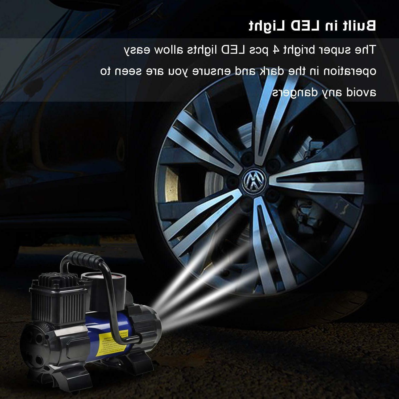 Heavy Duty 12V 150PSI Tyre Auto Tire Air Compressor