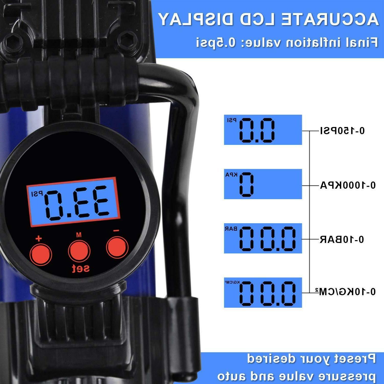 Heavy 150PSI Car Tire Pump Compressor