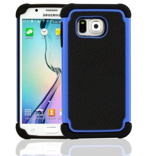 Heavy 1 Shockproof Hybrid】For Samsung S6