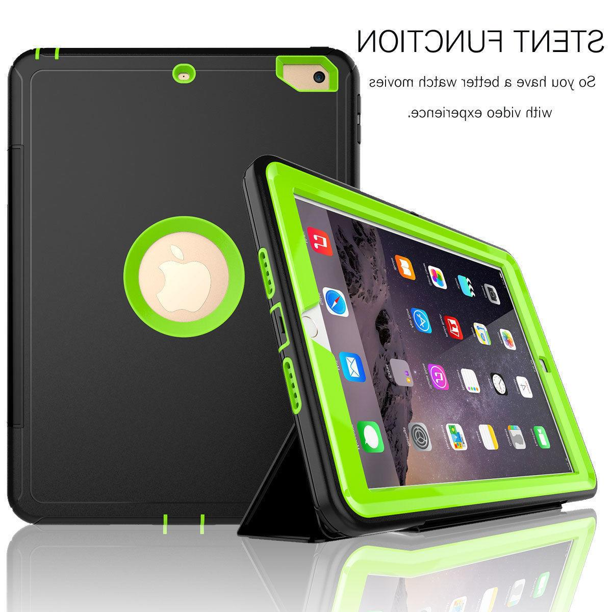 Heavy Duty in 1 Shock Proof PC Case Apple iPad Gen inch 2018