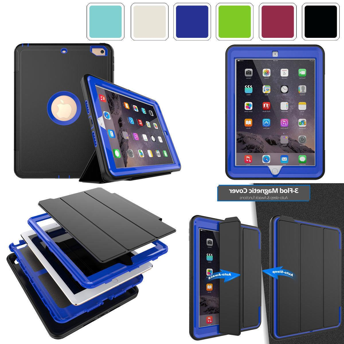 Heavy 3 in 1 Shock PC Case For iPad