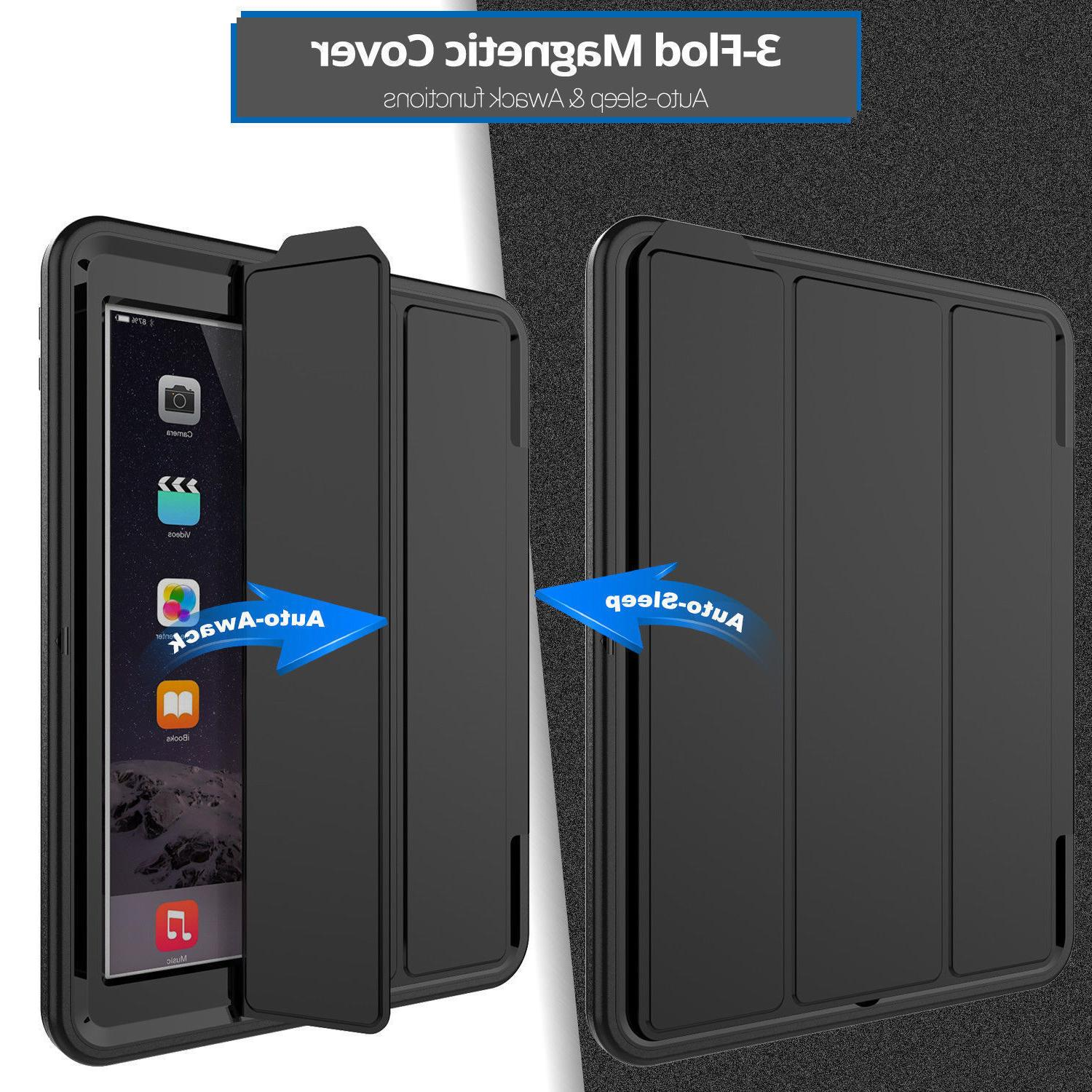 Heavy in 1 Shock Proof PC Case iPad 9.7 inch 2018