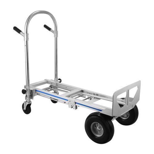 Heavy Duty Hand Truck 4-Wheel Cart