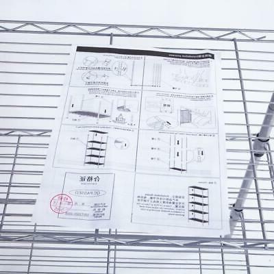 Heavy Duty 5 Tier Wire Shelf