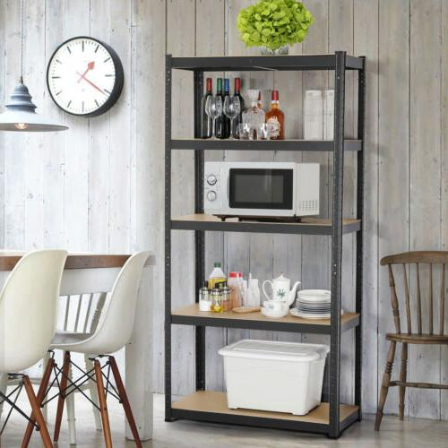 Heavy Duty Shelf Garage Storage 5 Level Adjustable Rack