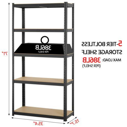 Heavy Duty Shelf Garage Steel 5