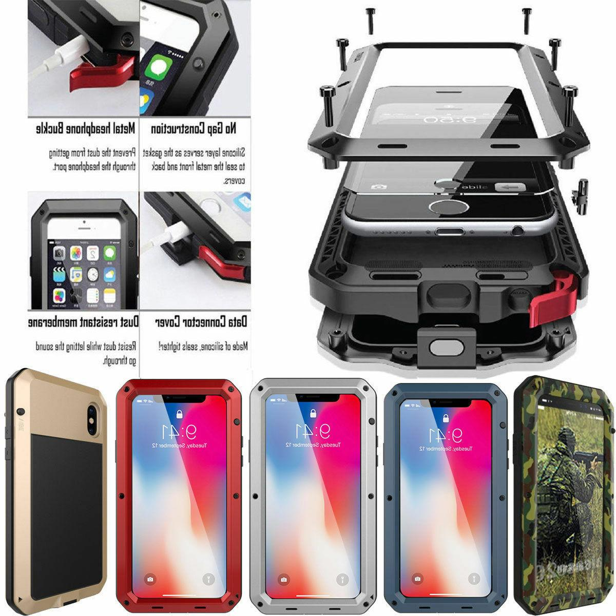 heavy duty aluminum metal waterproof case cover