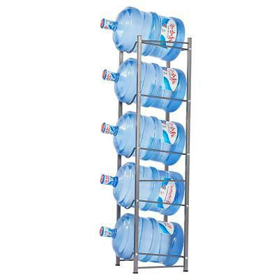 Heavy Duty Bottle 5 Tier Water Cooler Jug Water Rack Detachable