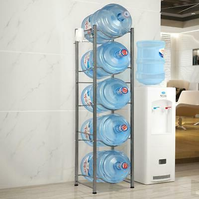 heavy duty bottle storage 5 tier water