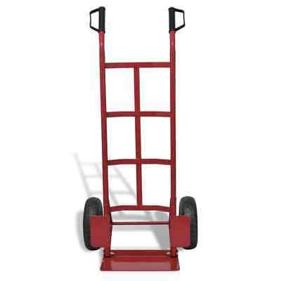 Heavy-Duty Folding Collapsible Push Truck