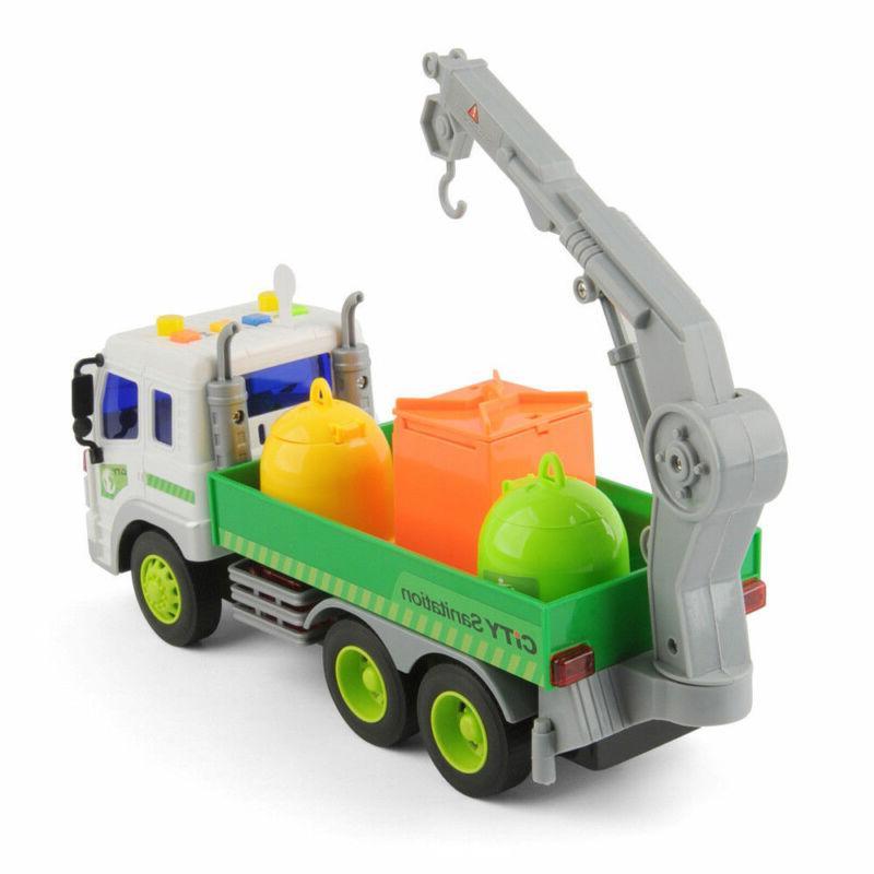 Heavy Duty Lorry Trucks Trash Toys
