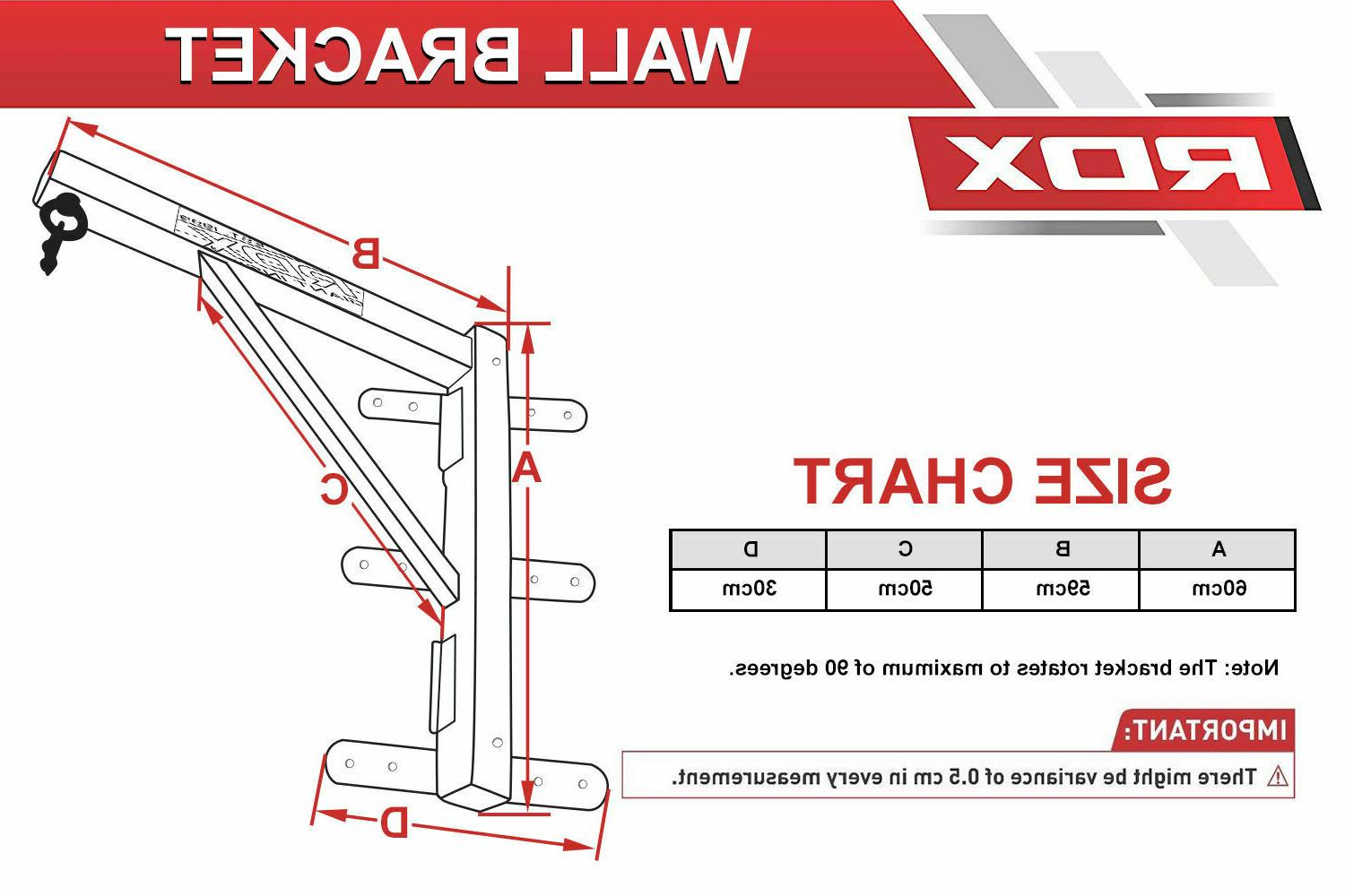 RDX Punch Folding Wall Steel Boxing GYM