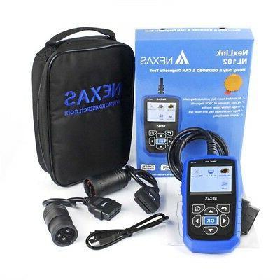 Heavy Diesel Diagnostic Scanner Tool HD Code Reader NL102