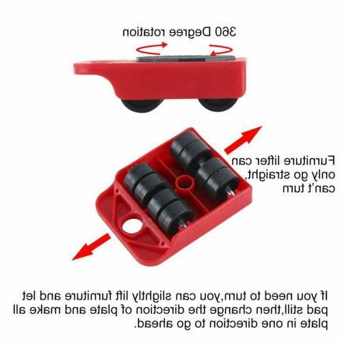 Heavy Duty Hand Tool Mover Lifter Wheel