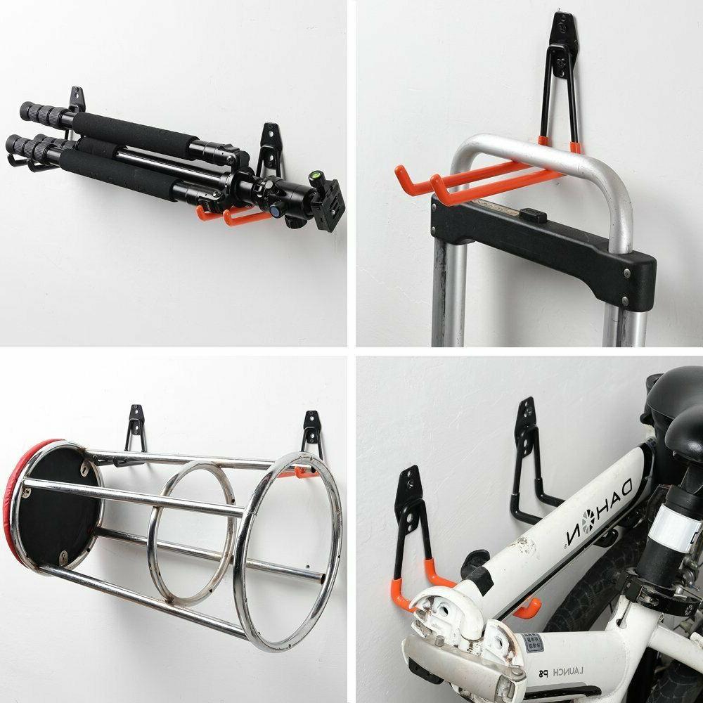 Heavy Duty Utility Hooks & Tools, Wall Garage H