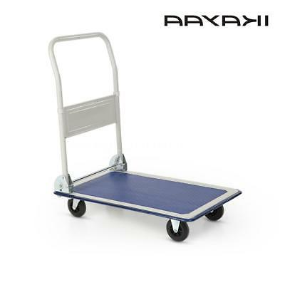Heavy Duty Hand Folding Push Cart Luggage wheels