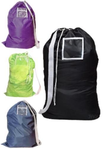 heavy duty large nylon laundry bag shoulder