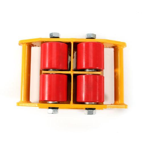 4Pcs Heavy Duty Machine Dolly Roller Mover Cargo Trolley 6 Ton