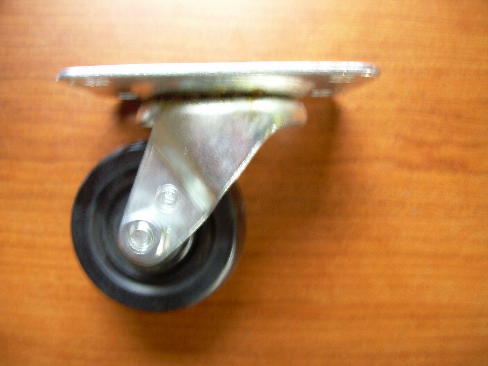 """Shepherd Hardware Metal Swivel 2.5"""" rubber"""